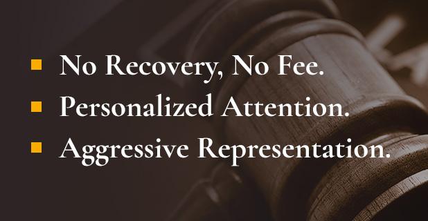 No Recovery, No Fee